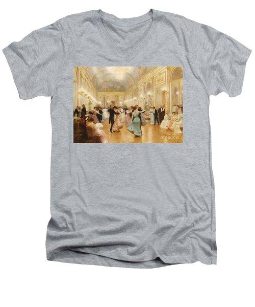 The Ball Men's V-Neck T-Shirt