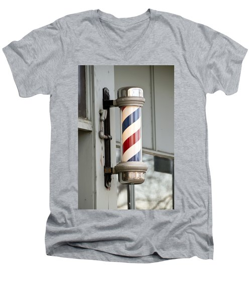 The Barber Shop 4 Men's V-Neck T-Shirt
