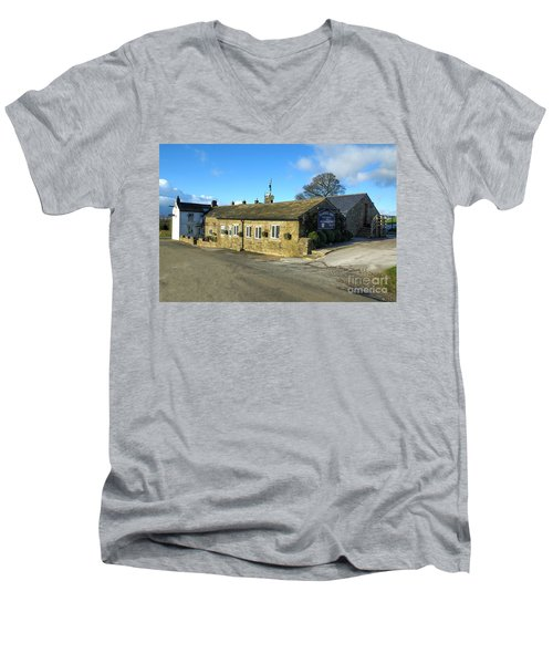 The Barrel Inn At Bretton Men's V-Neck T-Shirt