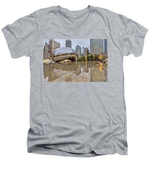 The Bean Hdr 01 Men's V-Neck T-Shirt