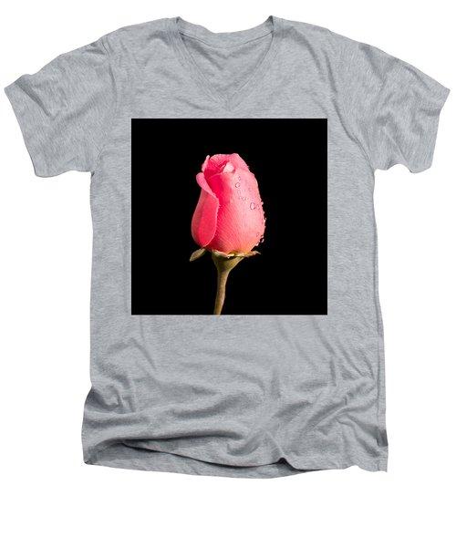 The Beauty Of A Rose Men's V-Neck T-Shirt