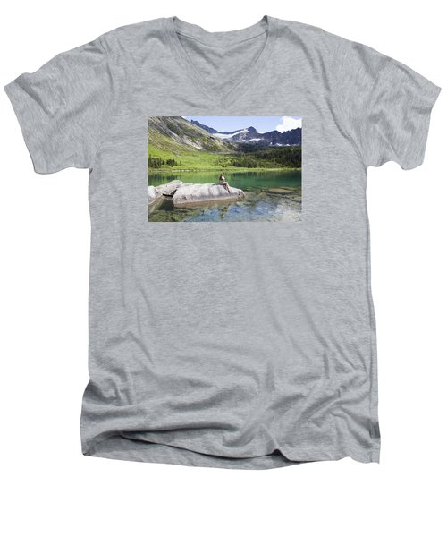 The Beauty Men's V-Neck T-Shirt