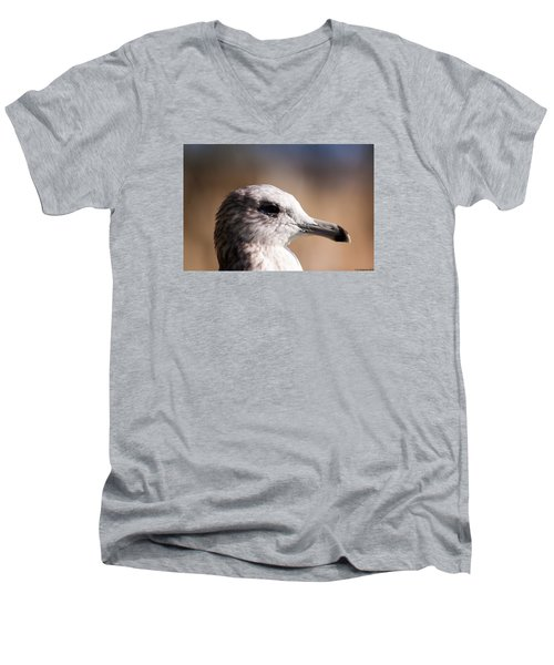 The Best Side Of The Gull Men's V-Neck T-Shirt