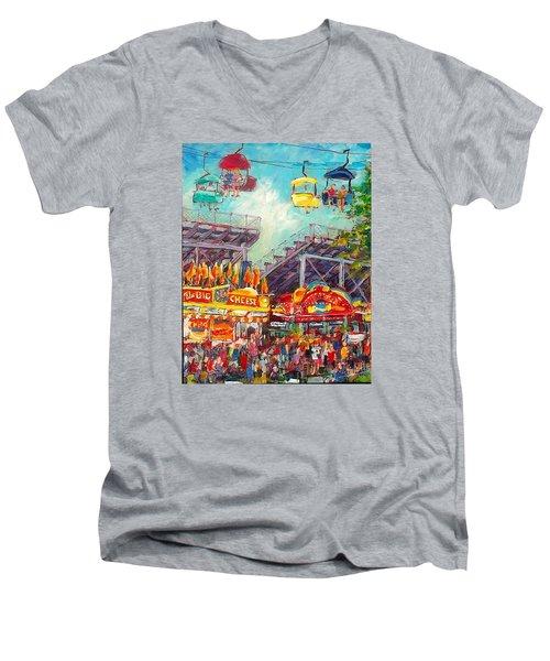 The Big Cheese Men's V-Neck T-Shirt