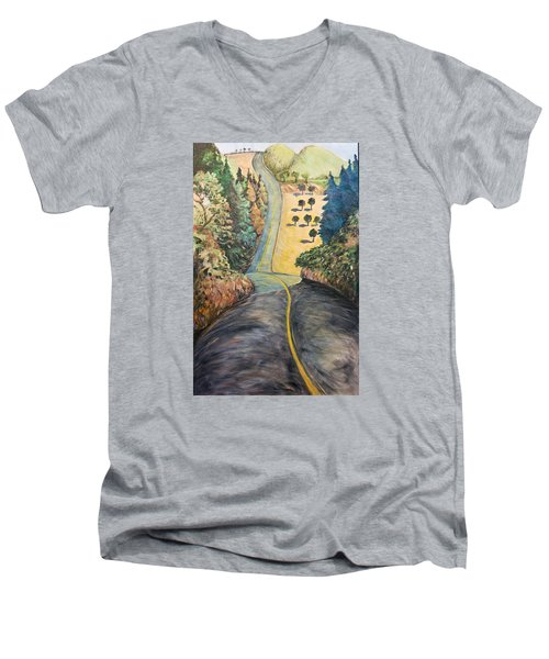 The Big Dip Men's V-Neck T-Shirt