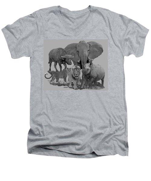 The Big Five Men's V-Neck T-Shirt