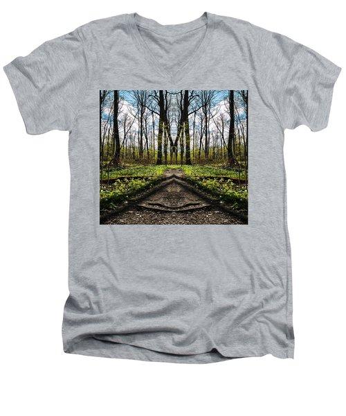 The Big M Men's V-Neck T-Shirt