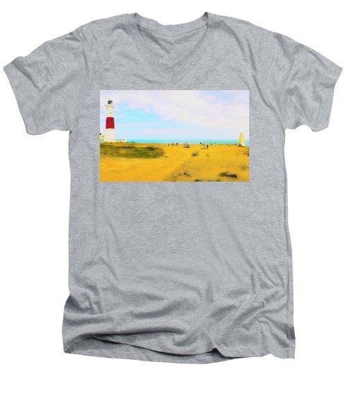 The Bill Men's V-Neck T-Shirt