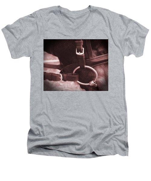 The Bit Men's V-Neck T-Shirt