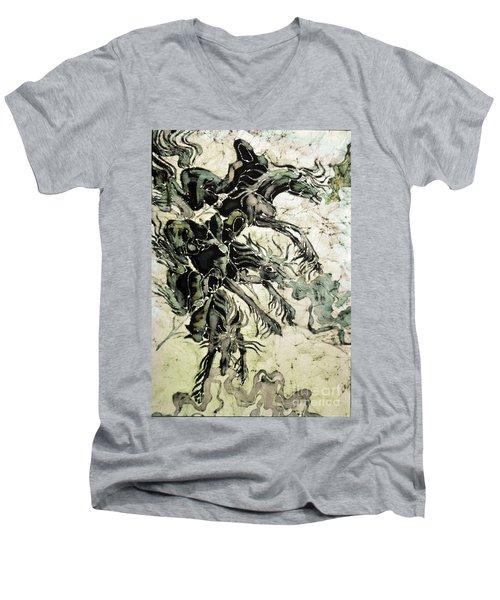 The Black Riders Descend Men's V-Neck T-Shirt