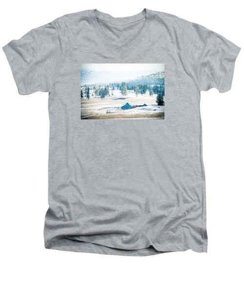 The Blue Barn Men's V-Neck T-Shirt