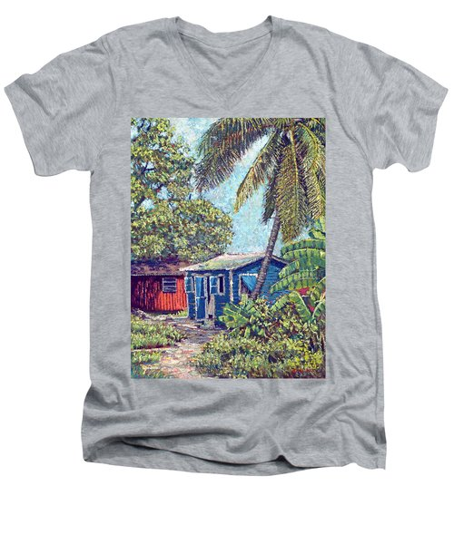 The Blue Cottage Men's V-Neck T-Shirt