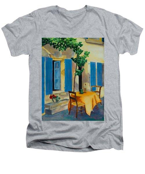The Blue Shutters Men's V-Neck T-Shirt