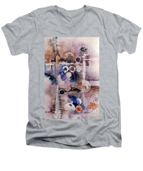 The Blues Men's V-Neck T-Shirt