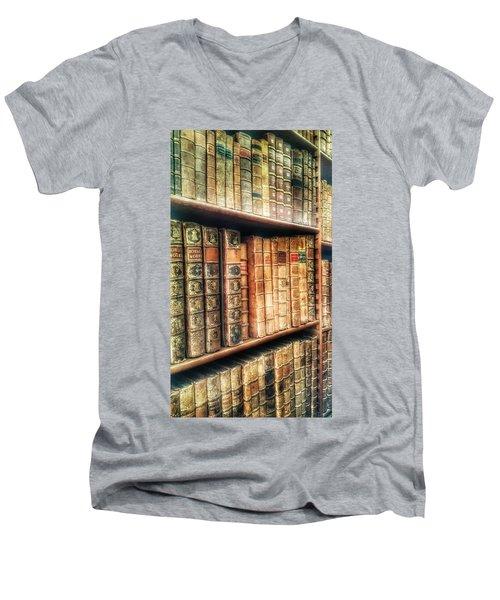 The Bookcase Men's V-Neck T-Shirt