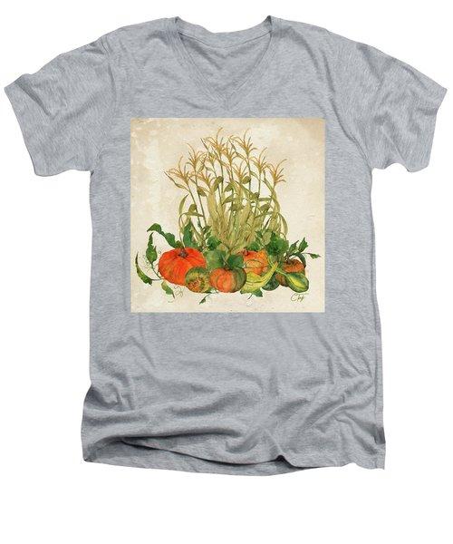 The Bountiful Harvest Men's V-Neck T-Shirt