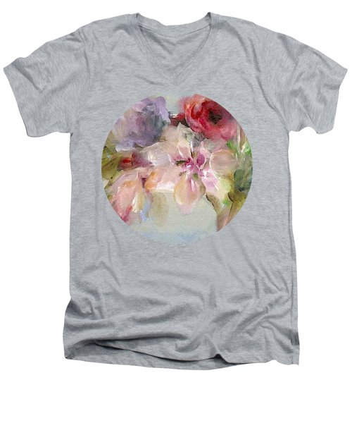 The Bouquet Men's V-Neck T-Shirt
