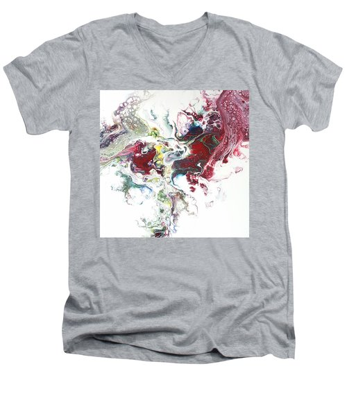 The Breath Of The Crimson Dragon Men's V-Neck T-Shirt