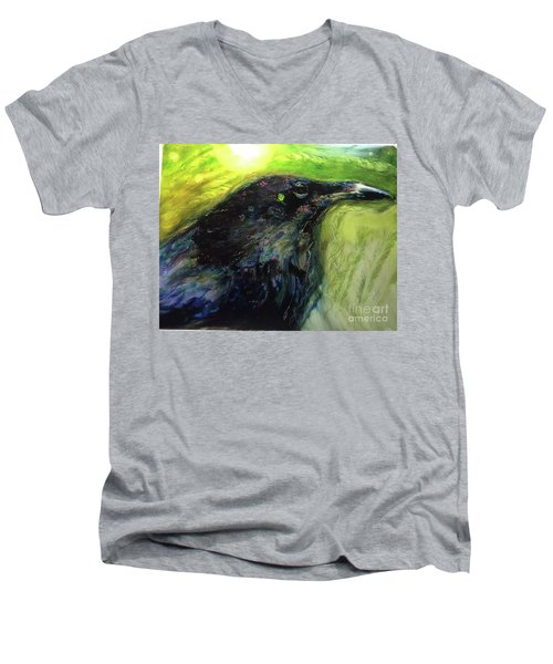 The Breath Of Winds Men's V-Neck T-Shirt