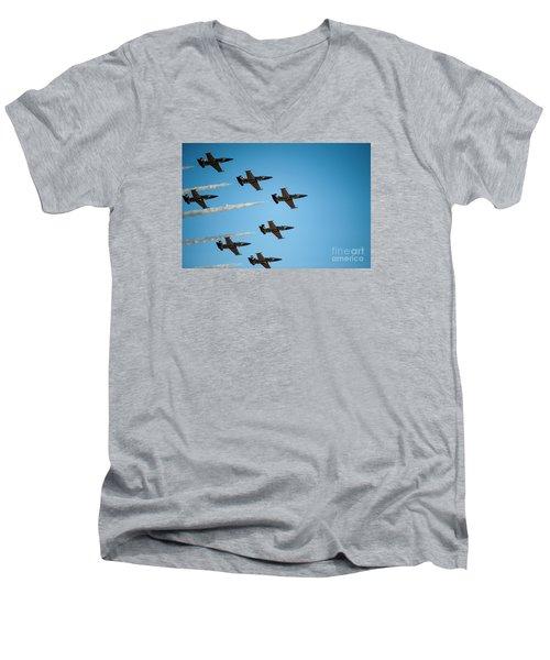 The Breitling Jet Team Men's V-Neck T-Shirt