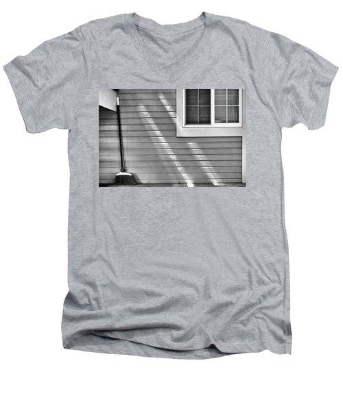The Broom And Sunbeams Men's V-Neck T-Shirt by Monte Stevens