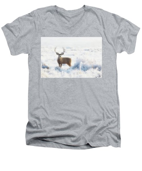 The Buck Stops Here Men's V-Neck T-Shirt