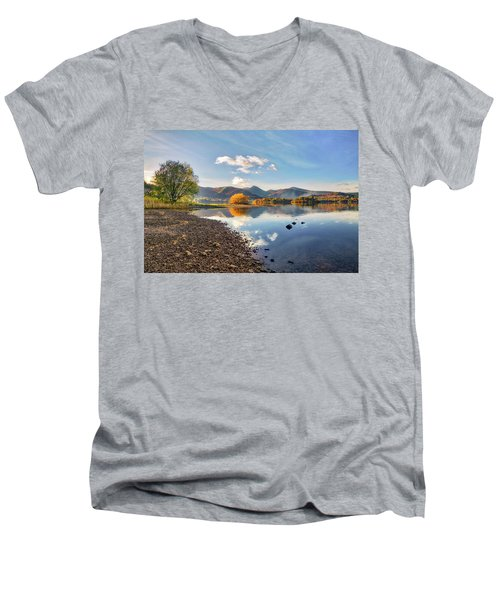 The Burning Bush Men's V-Neck T-Shirt