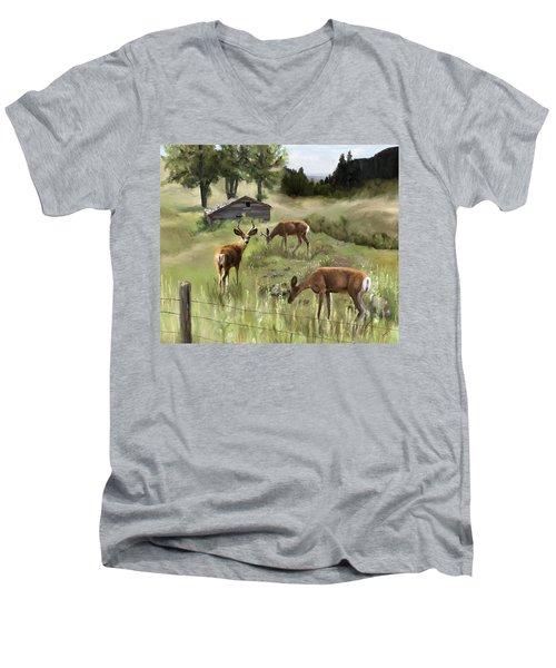 The Calm Men's V-Neck T-Shirt