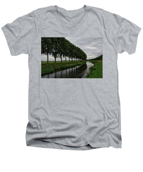 The Canal Men's V-Neck T-Shirt