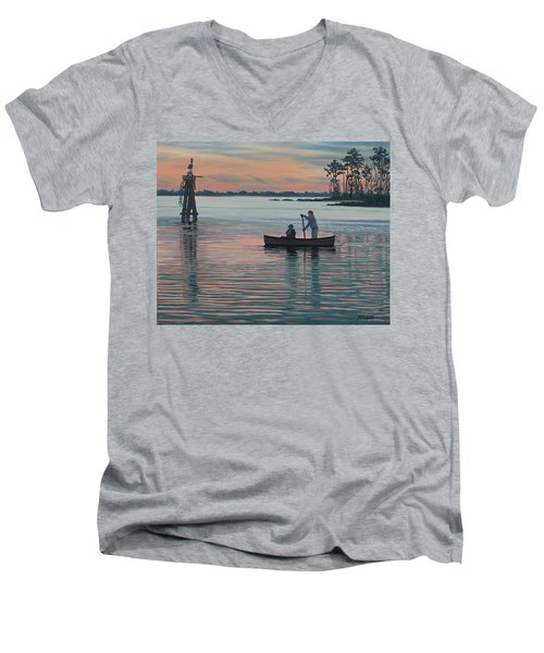 The Canoers Men's V-Neck T-Shirt