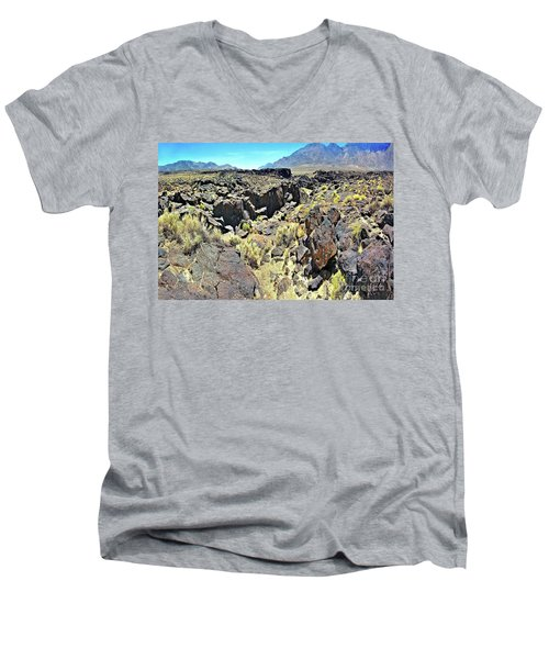 The Canyon Men's V-Neck T-Shirt