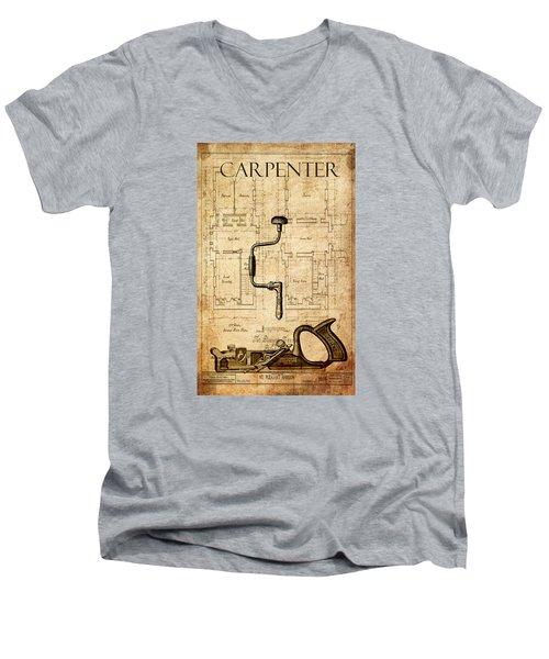 The Carpenter Men's V-Neck T-Shirt