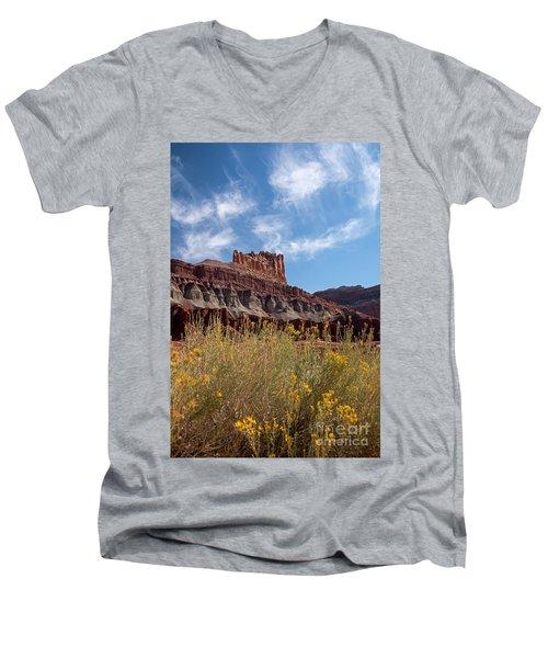 The Castle Capital Reef Men's V-Neck T-Shirt