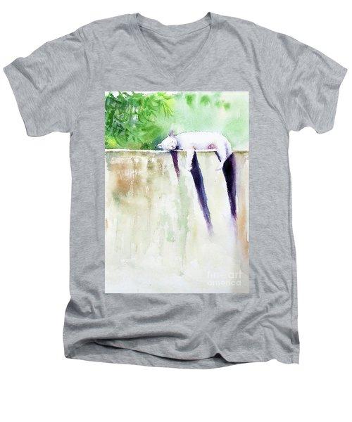 The Cat-nap Men's V-Neck T-Shirt