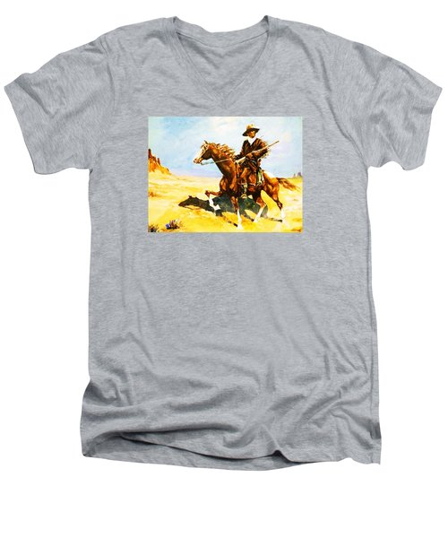The Cavalry Scout Men's V-Neck T-Shirt