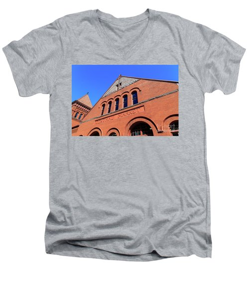 The Central Market Men's V-Neck T-Shirt