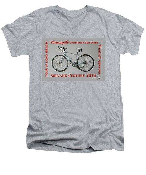 The Century Bicycle Men's V-Neck T-Shirt