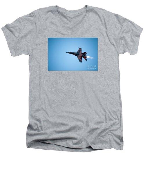 The Cf18 Men's V-Neck T-Shirt
