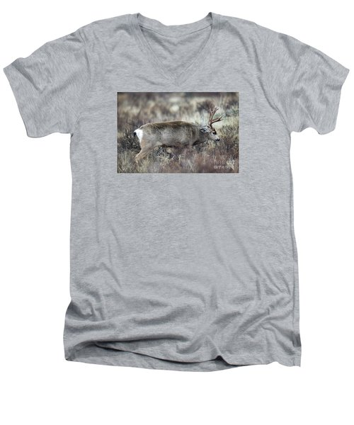 The Challenge Men's V-Neck T-Shirt