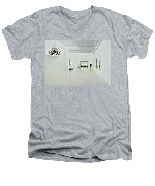 The Chandelier Men's V-Neck T-Shirt