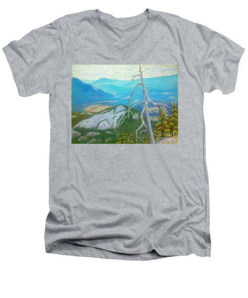 The  Chief  Men's V-Neck T-Shirt by Rae  Smith