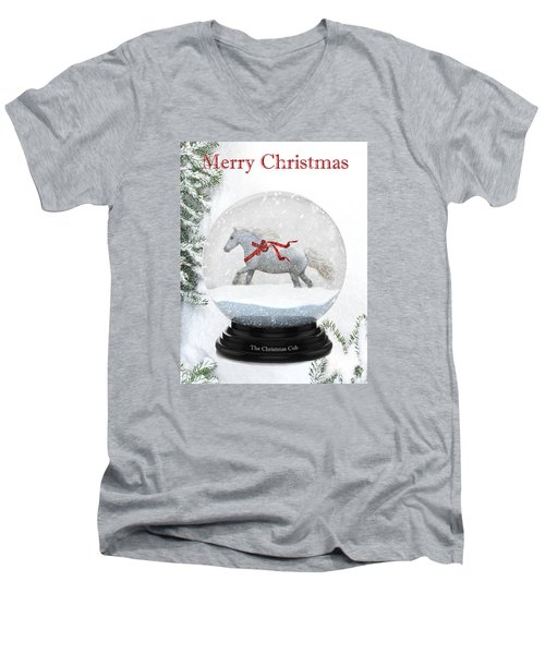 The Christmas Cob Men's V-Neck T-Shirt