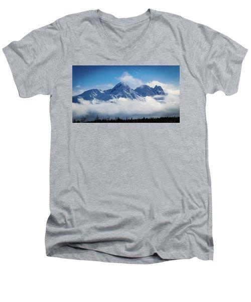 The Chugachs Men's V-Neck T-Shirt