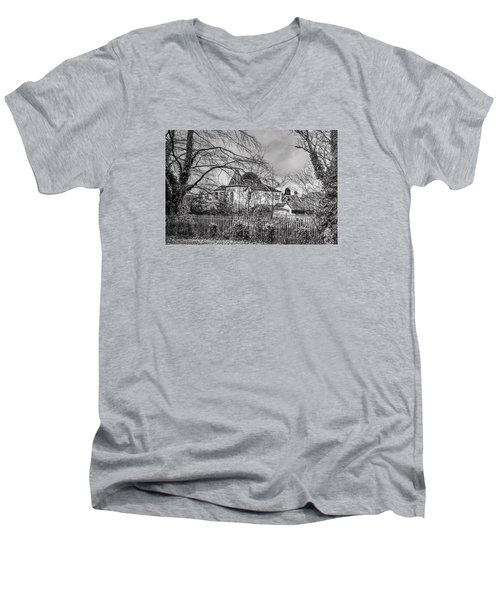 Men's V-Neck T-Shirt featuring the photograph The Claremont by Jeremy Lavender Photography