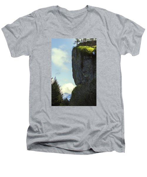 The Cliff Men's V-Neck T-Shirt