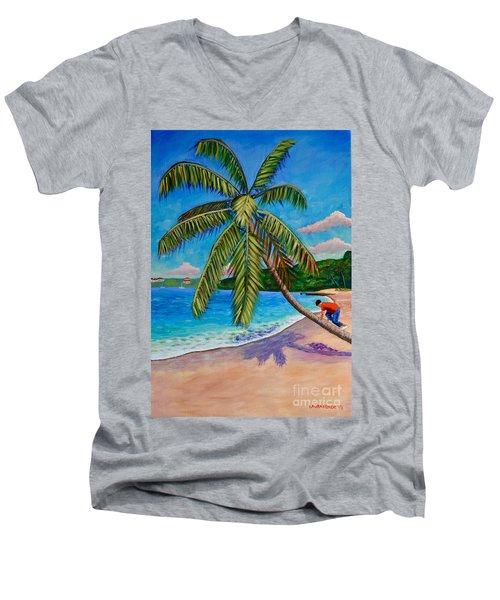 The Climb Men's V-Neck T-Shirt
