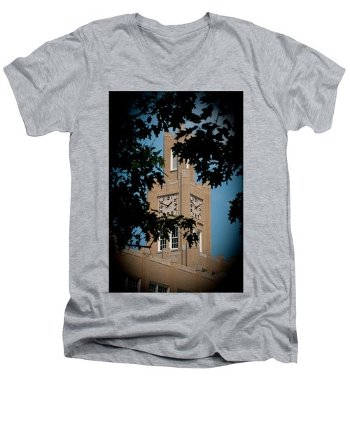 The Clock Tower Men's V-Neck T-Shirt