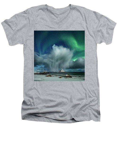 The Cloud II Men's V-Neck T-Shirt