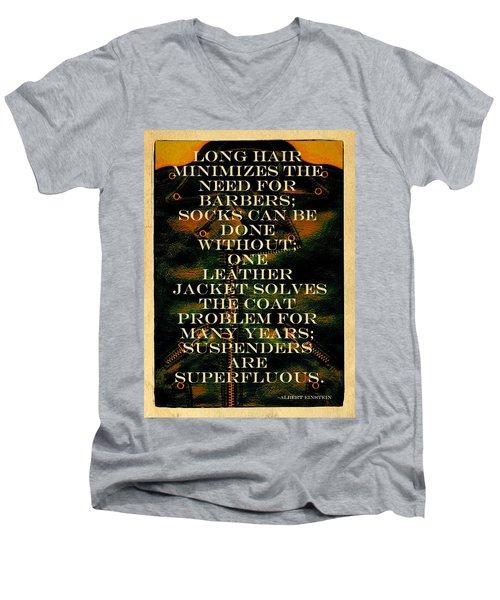 The Coat Problem Men's V-Neck T-Shirt