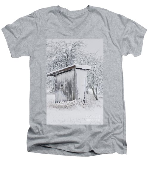 The Coldest Fifty Yard Dash Men's V-Neck T-Shirt